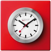 Mondaine Swiss Railways Desk Clock