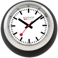 Zegarek zegar Mondaine Swiss Railways Desk Clock A6603033516SBB