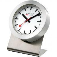 Wanduhr Mondaine Swiss Railways Magnetic Desk Clock A6603031881SBB