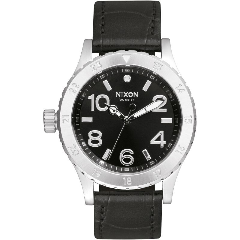 Mens Nixon The 38-20 Leather Watch A467-1886
