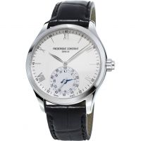 Frederique Constant Horological Smartwatch Bluetooth Hybrid Herenhorloge Zwart FC-285S5B6