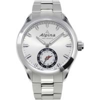 Alpina Horological Smartwatch BluetoothHorological Smartwatch Bluetooth Herrklocka Silver AL-285S5AQ6B