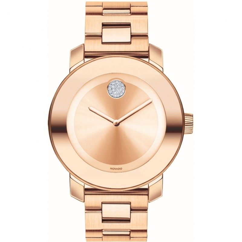 Damen Movado Bold Iconic Watch 3600086