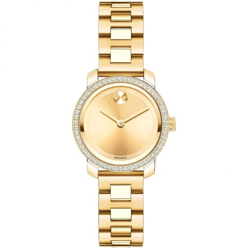 Ladies Movado Bold Diamond Watch