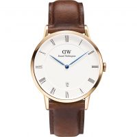 homme Daniel Wellington Dapper 38mm St Mawes Rose Watch DW00100083
