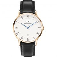 homme Daniel Wellington Dapper 38mm Sheffield Rose Watch DW00100084