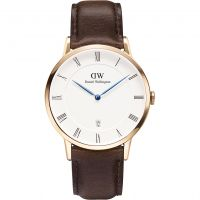 Hommes Daniel Wellington Dapper 38mm Bristol Rose Montre