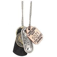 Icon Brand Stainless Steel Mega Mix Necklace