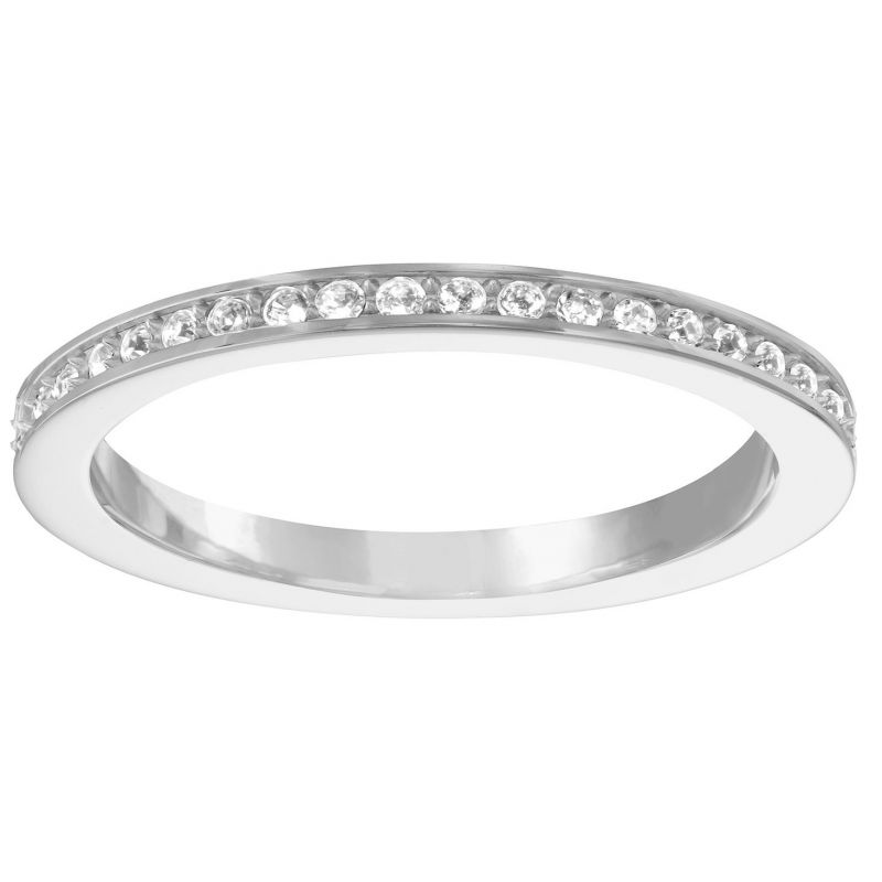 Ladies Swarovski Stainless Steel Size L.5 Rare Ring 52 1121066