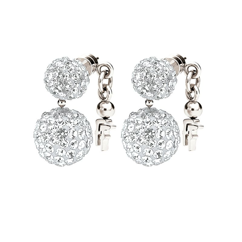 Folli Follie Dames Bling Chic Earring Sterling Zilver 5040.1813