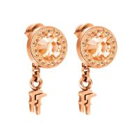 Ladies Folli Follie Sterling Silver Classy Earring