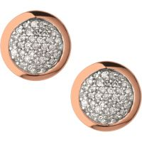 Ladies Links Of London Sterling Silver Diamond Essential Earring