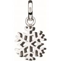 Ladies Links Of London Sterling Silver Keepsakes Snowflake Charm