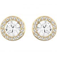 Ladies Swarovski PVD Gold plated Angelic Earrings 1081941