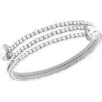 femme Swarovski Jewellery Twisty Bracelet Watch 5086031
