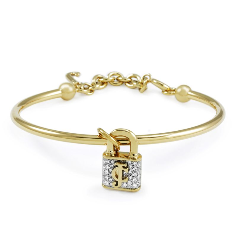 Juicy Couture Dames Jc Pave Slider Bangle PVD verguld Goud WJW393-710