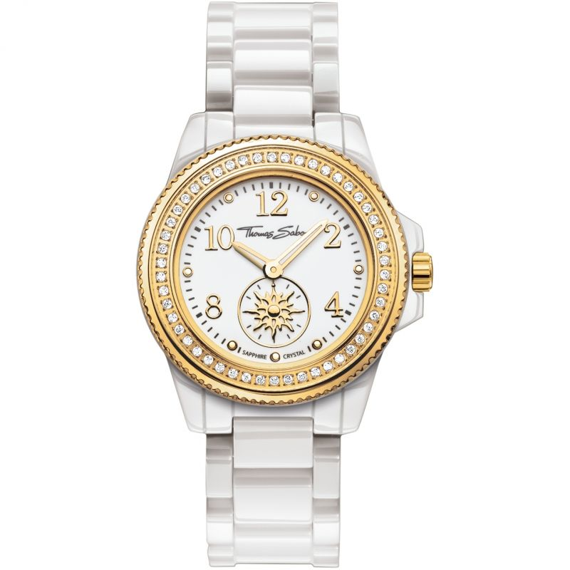 Ladies Thomas Sabo Glam Chic Ceramic Watch