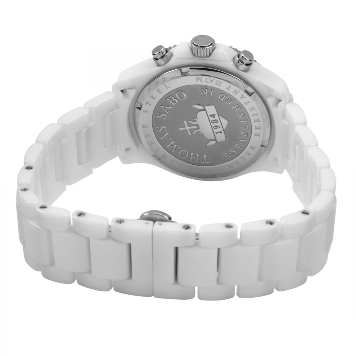Ladies Thomas Sabo Glam Chronograph Watch Wa0180 206 202