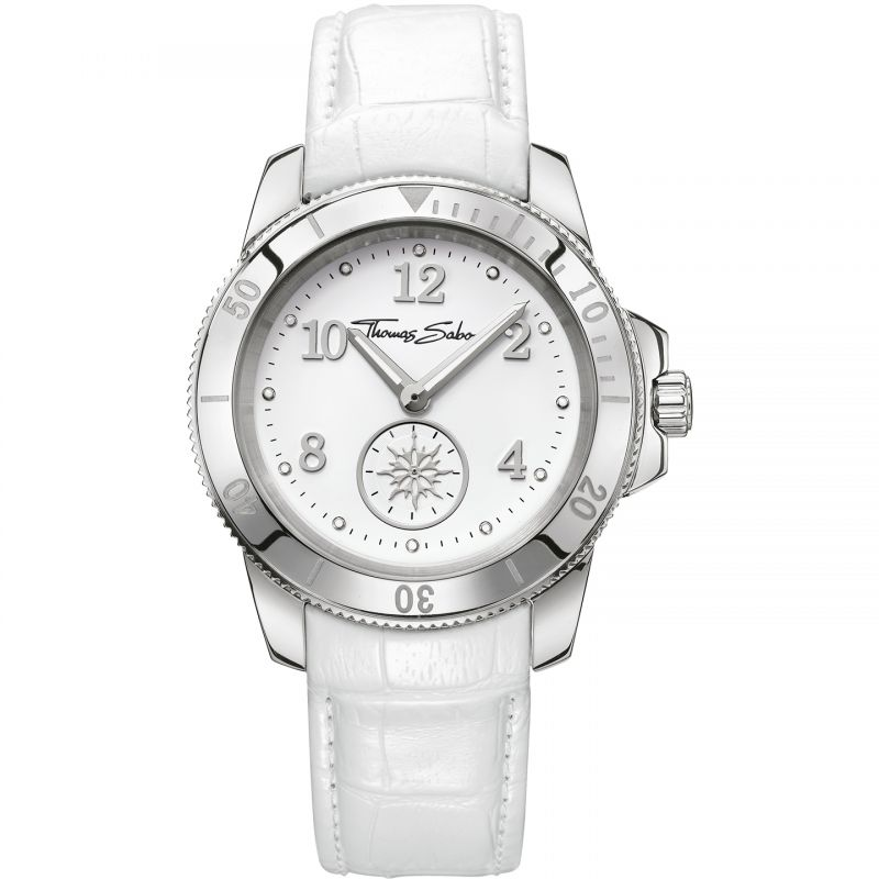 Ladies Thomas Sabo Glam Chic Chronograph Watch WA0207-215-202-40MM