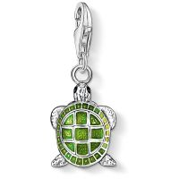 femme Thomas Sabo Jewellery Charm Club Turtle Charm Watch 0837-007-6