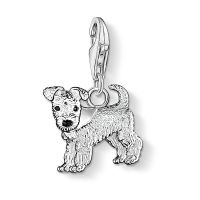 Thomas Sabo Dames Charm Club Dog Charm Sterling Zilver 0841-007-12