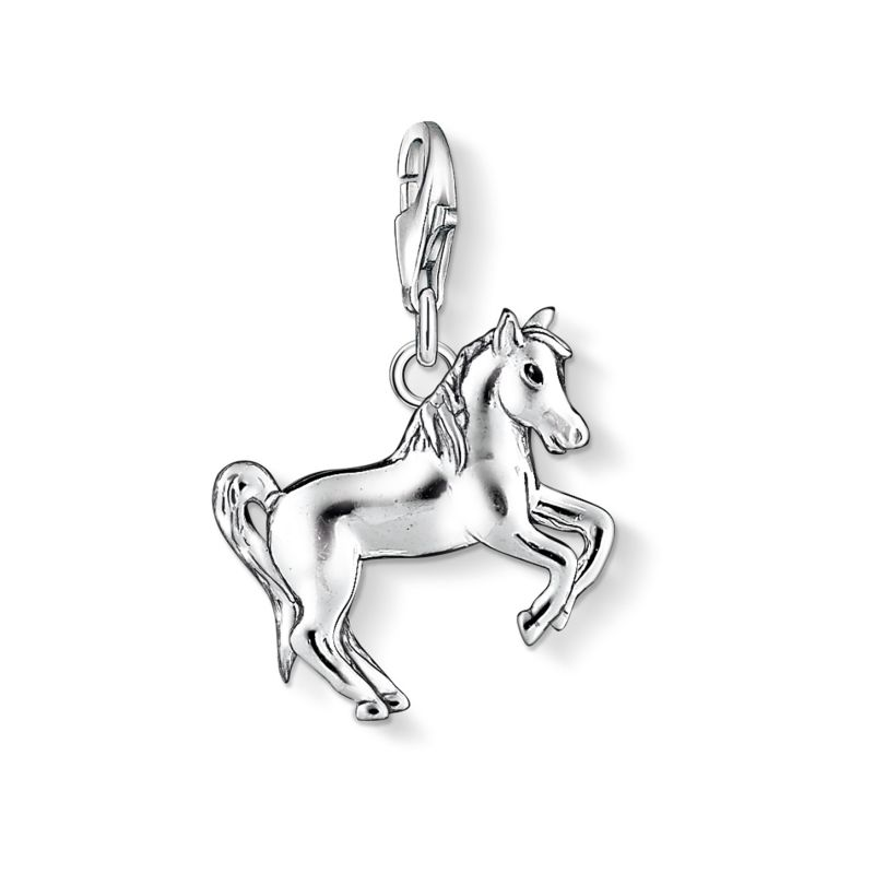 Ladies Thomas Sabo Sterling Silver Charm Club Horse Charm 1074-007-12