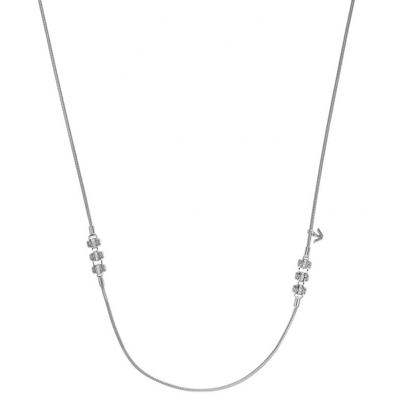 Ladies Emporio Armani Sterling Silver Necklace EG3209040
