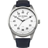 Ben Sherman London Carnaby Outdoor Herenhorloge Blauw WB031U