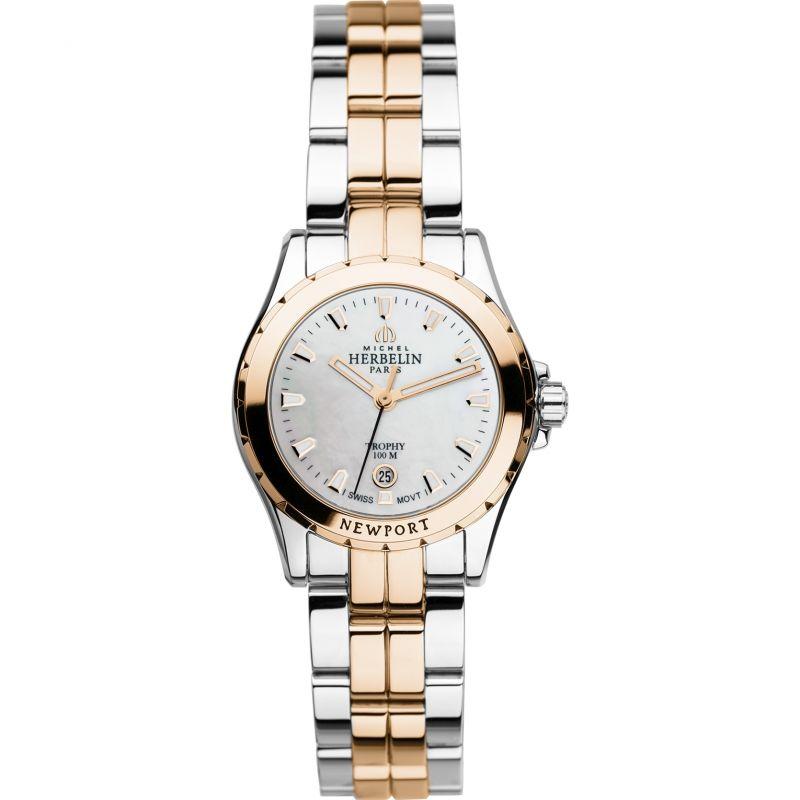 Ladies Michel Herbelin Newport Trophy Watch