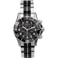 Damen Michel Herbelin Newport Trophy Chronograph Watch 34596/N04BN