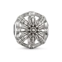 Ladies Thomas Sabo Sterling Silver Karma Beads Small Karma Wheel Bead K0016-001-12