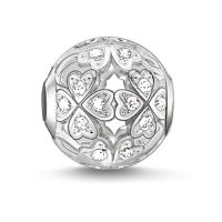 femme Thomas Sabo Jewellery Karma Beads - Clover Leaf Bead Watch K0134-051-14