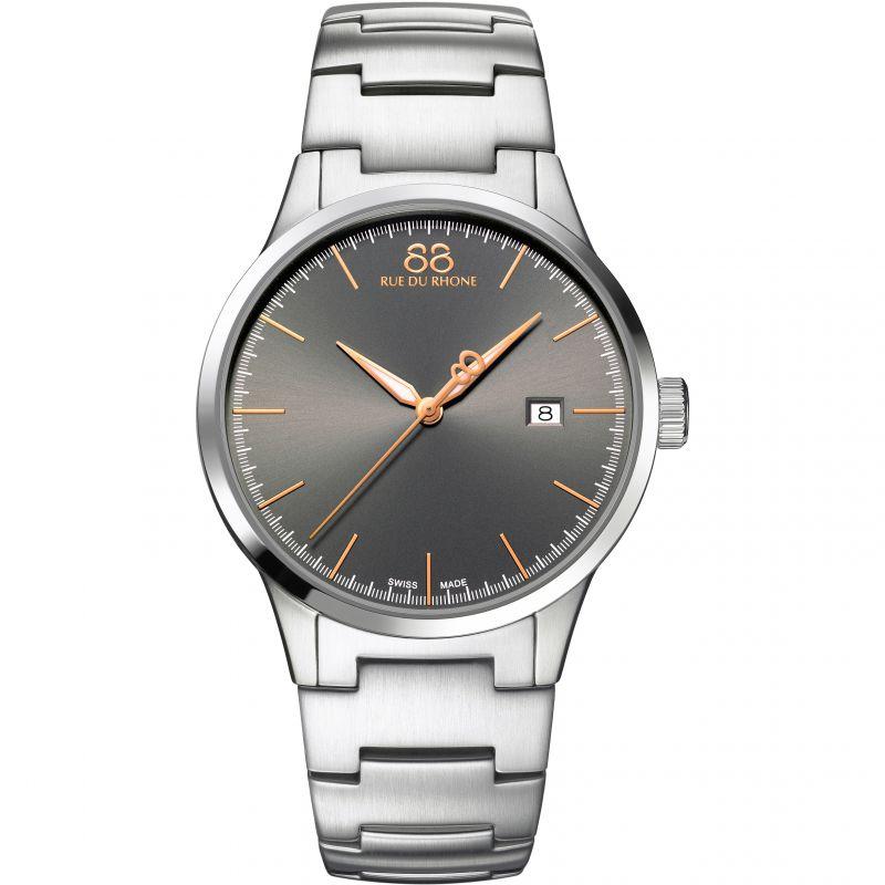 Herren 88 Rue Du Rhone Rive Watch 87WA154108