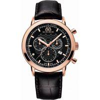 Herren 88 Rue Du Rhone Double 8 Herkunft Chronograf Diamant Uhr