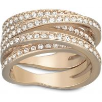 femme Swarovski Jewellery Spiral Ring 52 Watch 5063923