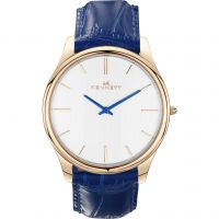 Mens Kennett Kensington Rose Gold White Royal Blue Watch