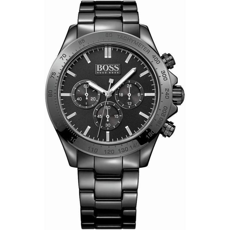 Mens Hugo Boss Ikon Ceramic Chronograph Watch