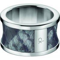 Damen Calvin Klein Edelstahl Größe P Spellbound Ring