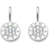 Ladies Thomas Sabo Sterling Silver Glam & Soul Drop Earrings H1862-051-14