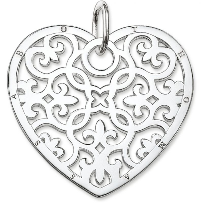 Ladies Thomas Sabo Sterling Silver Pendant PE650-001-12