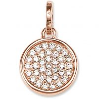 Ladies Thomas Sabo Sterling Silver Pendant PE708-416-14