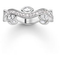 Ladies Thomas Sabo Sterling Silver Size O Ring
