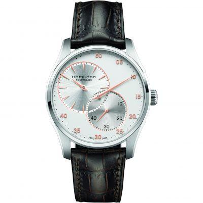 Mens Hamilton Jazzmaster Regulator Automatic Watch H42615553