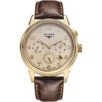 Herren Elysee Vintage Automatik Uhr