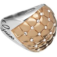Ladies Guess Stainless Steel Size N Ring UBR51415-54