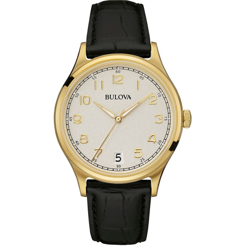 Mens Bulova Mens Vintage Watch 97B147