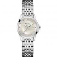 femme Bulova Diamond Gallery Watch 96S160