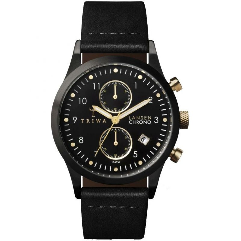 Mens Triwa Lansen Chrono Chronograph Watch