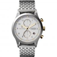 Triwa Lansen Chrono Herenchronograaf Zilver LCST106-BR021212