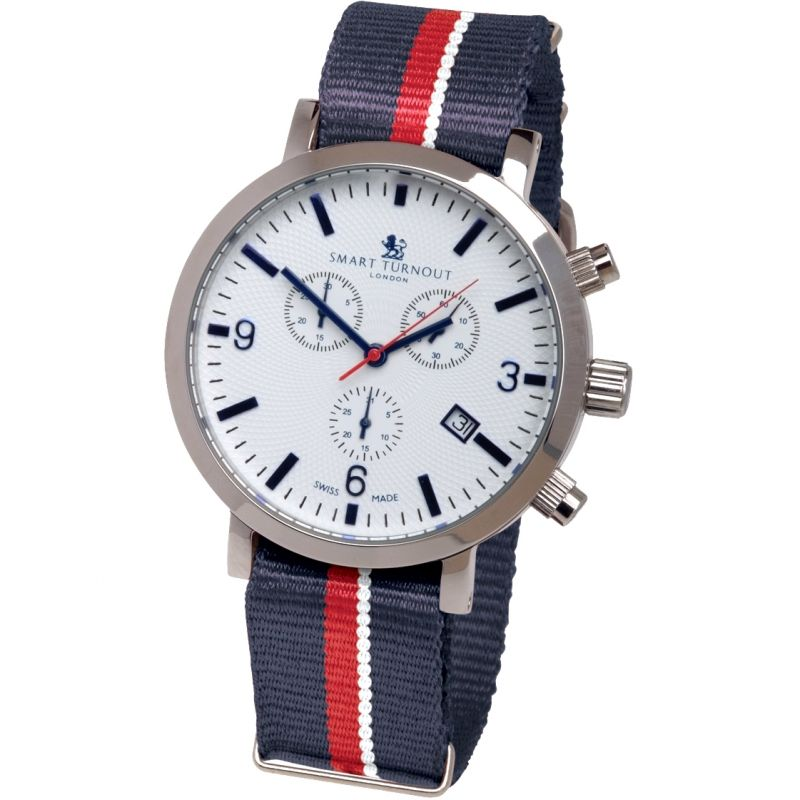 Mens Smart Turnout London Watch Royal Navy Chronograph Watch